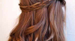 بالصور تسريحات للشعر الطويل بسيطة , تسريحات الشعر الطويل والمتوسط 2402 2 300x165