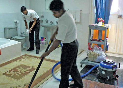 صوره تنظيف منازل , شركات النظافه فى مصر