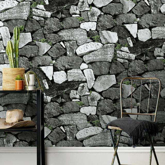 بالصور ورق جدران حجر , اشكال من اوراق الحائط رائعه جدا 2788 4
