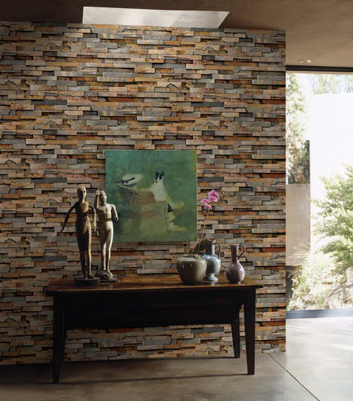 صوره ورق جدران حجر , اشكال من اوراق الحائط رائعه جدا
