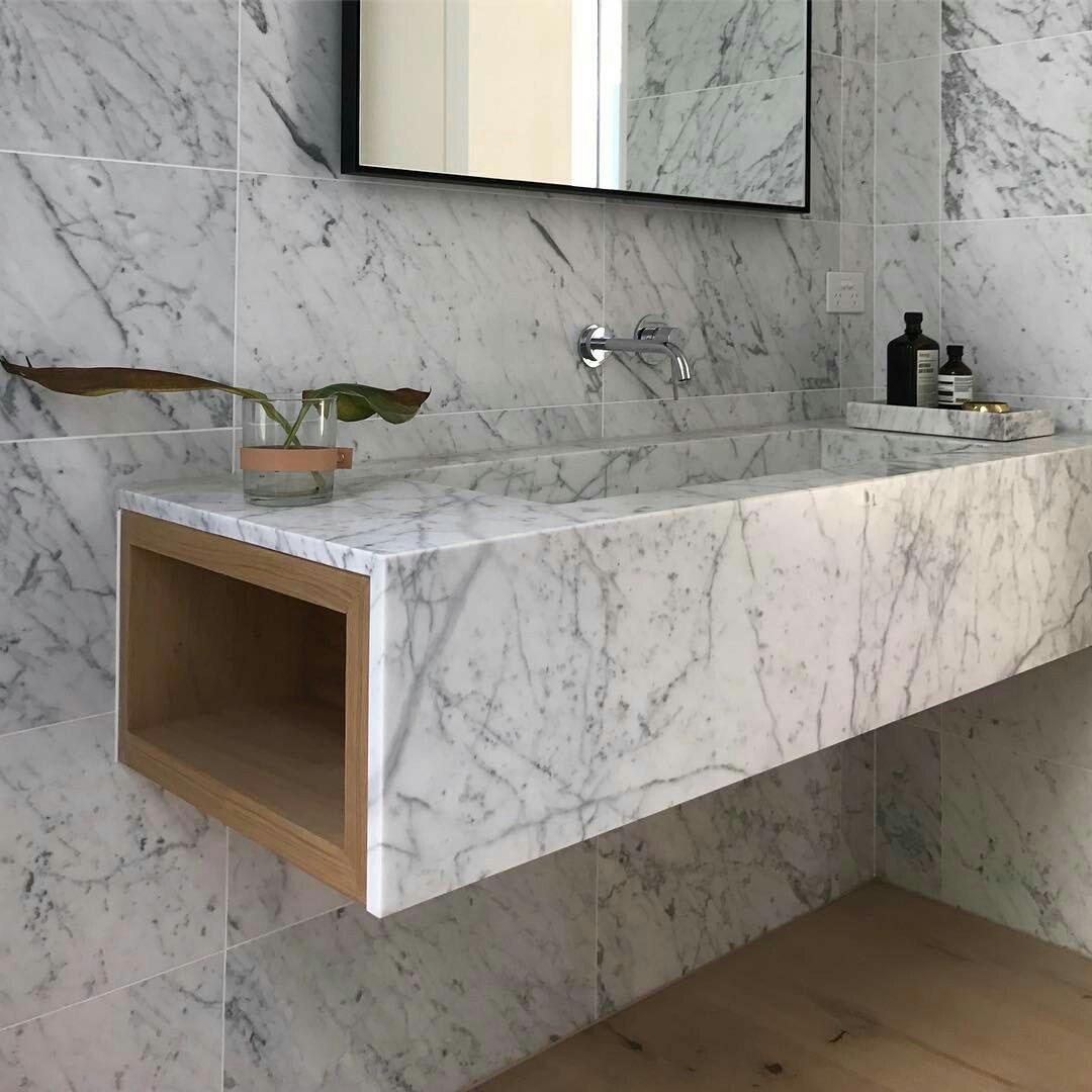 بالصور اشكال مغاسل رخام طبيعي , احواض حمام رخامى شيك جدا 2859 3