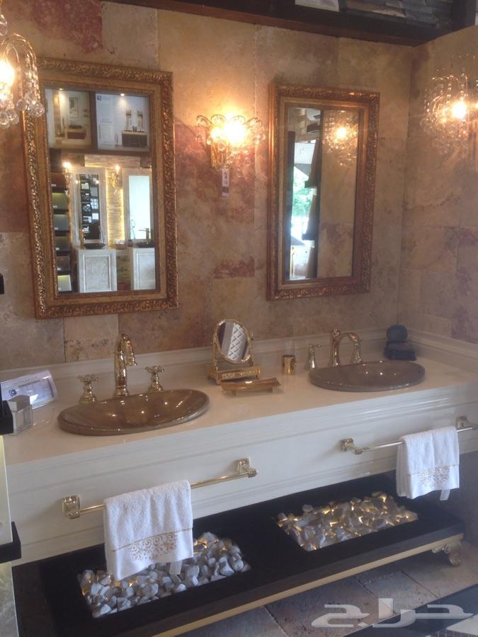 بالصور اشكال مغاسل رخام طبيعي , احواض حمام رخامى شيك جدا 2859 5