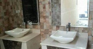 اشكال مغاسل رخام طبيعي , احواض حمام رخامى شيك جدا