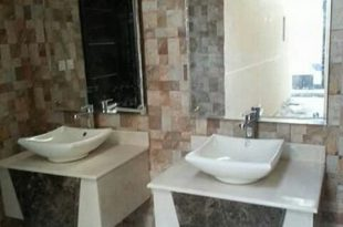 صورة اشكال مغاسل رخام طبيعي , احواض حمام رخامى شيك جدا