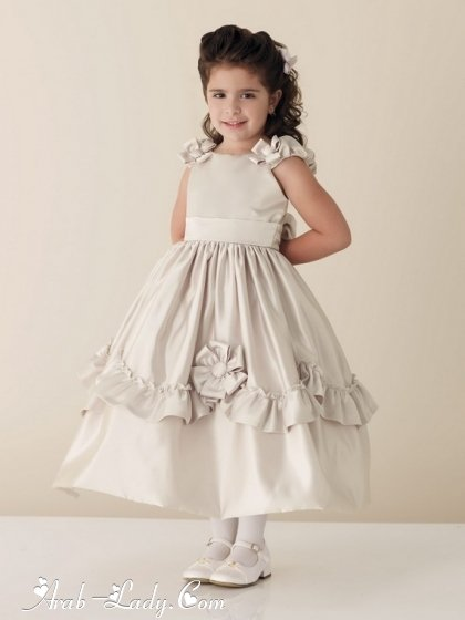 صورة ملابس اطفال للعيد , اجمل فساتين العيد للبنات