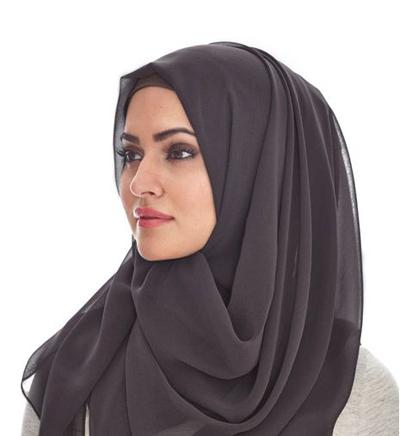 بالصور موضة الحجاب , افضل لفات طرح جديدة 3507
