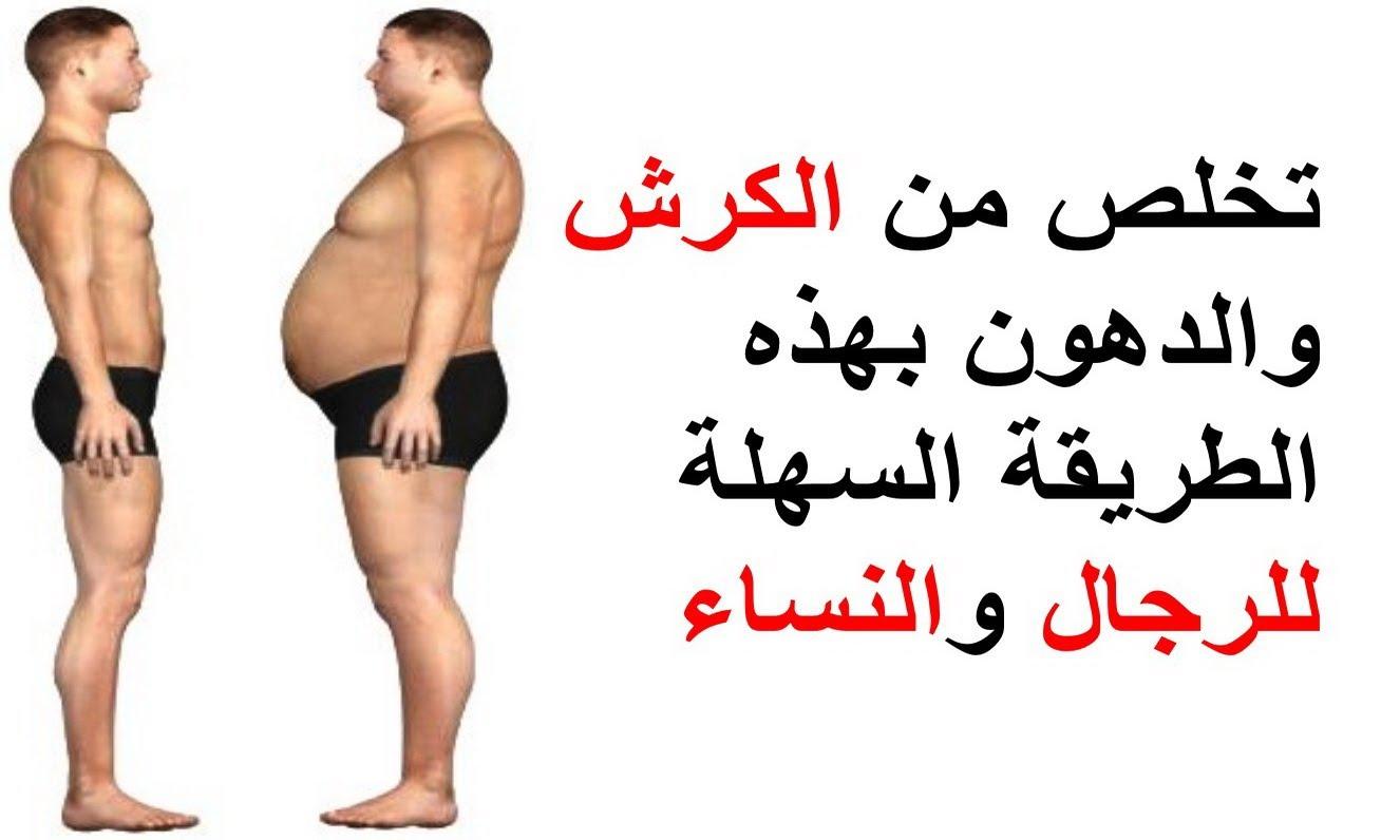 رجيم الكرش , دايت لتنزيل الدهون من البطن مساء الخير