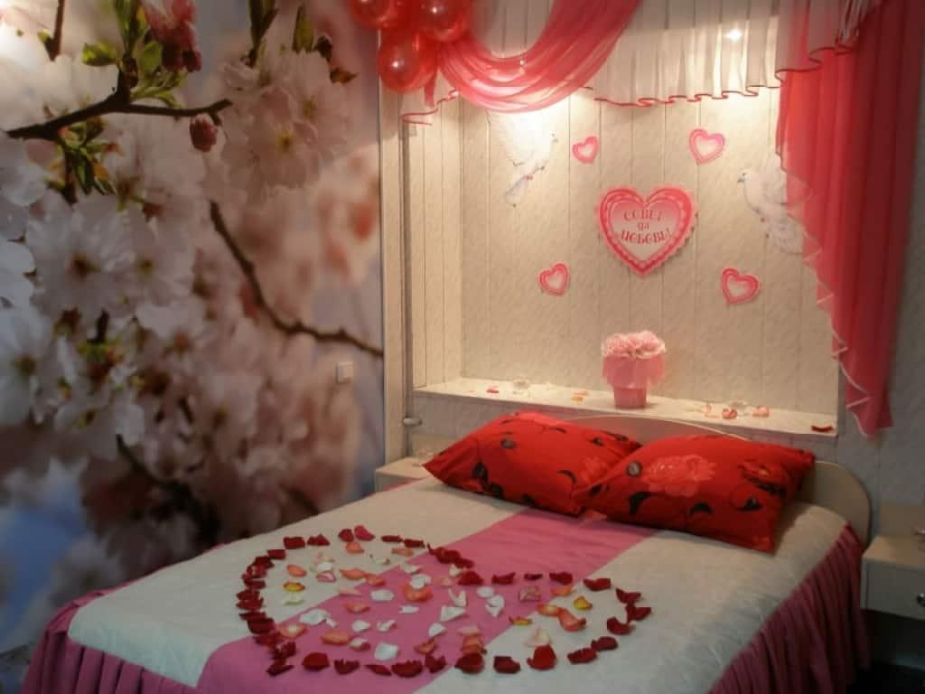 صورة فنون في غرفة النوم , تزين رومانسى لغرف النوم 1123 4