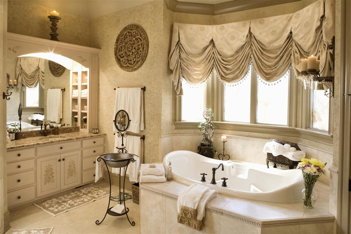 بالصور ستائر حمامات , ستائر بالوان زاهية 1567 7