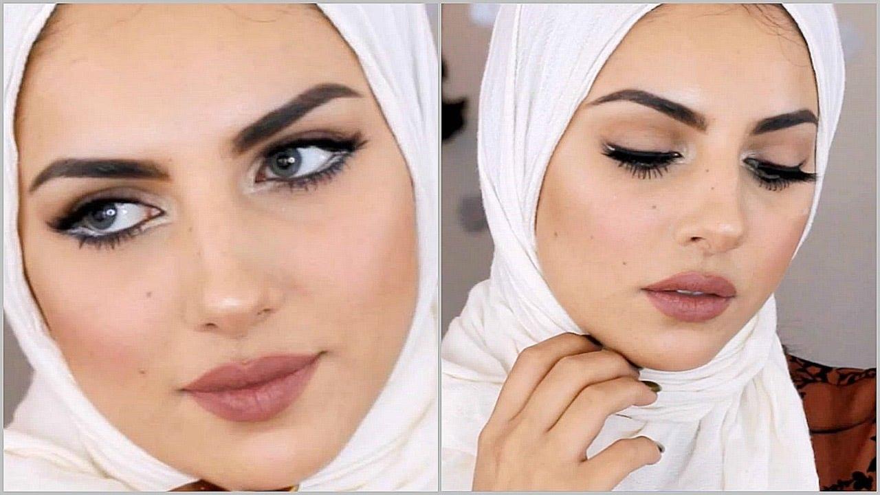 صورة اجمل بنات محجبات بدون مكياج , صورة حلوة للحجاب