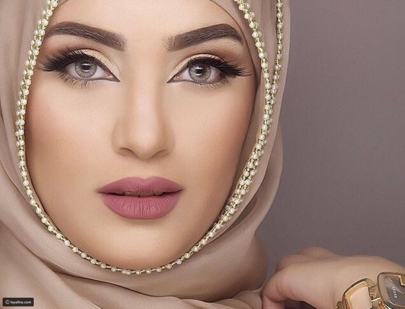 صور اجمل بنات محجبات بدون مكياج , صورة حلوة للحجاب