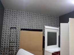 صور ورق جدران رمادي , ديكورات عصرية للمنازل