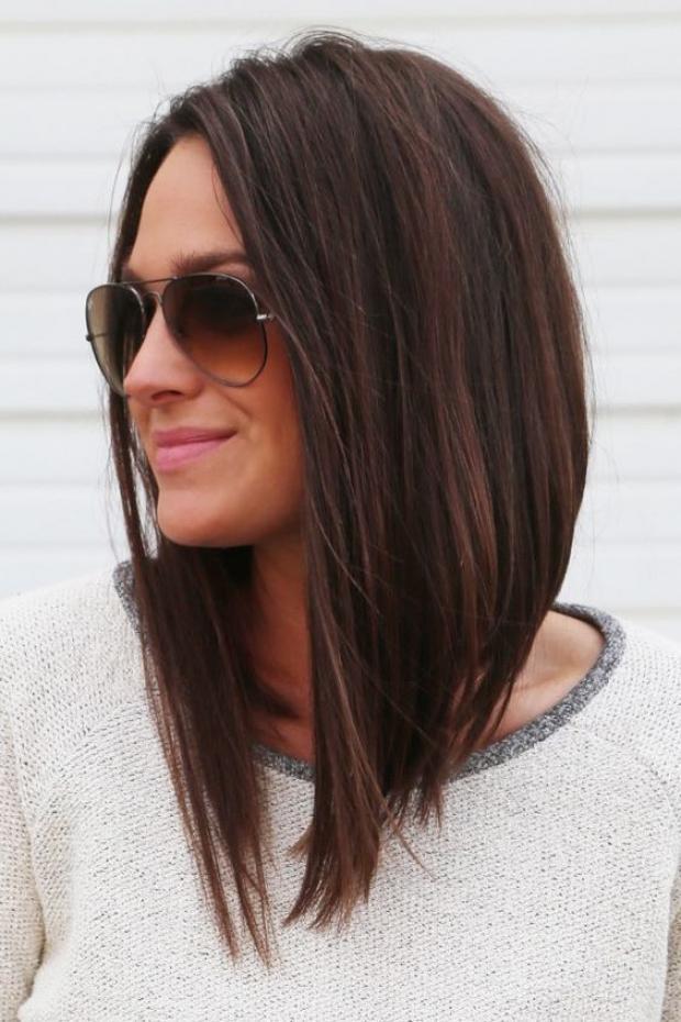صوره قصات شعر متوسط , اجمل تسريحات الشعر المتوسط