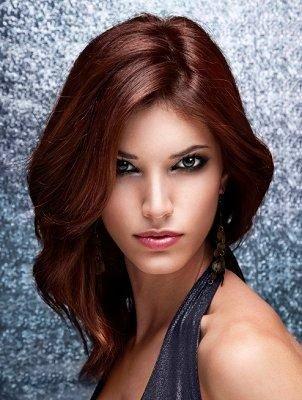 بالصور قصات شعر متوسط , اجمل تسريحات الشعر المتوسط 2341 9