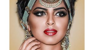 صوره مكياج هندي , احلى مكياج هندى عسل