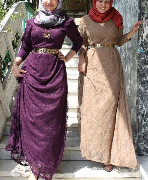 صورة فساتين سواريه 2019 للمحجبات , احلى فستان سوارية 2485 3