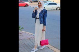 صور موضة صيف 2019 للمحجبات , اجمل ملابس الصيف