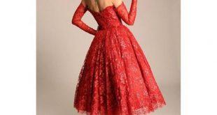 فساتين قصيرة فخمة , احلى فستان قصير