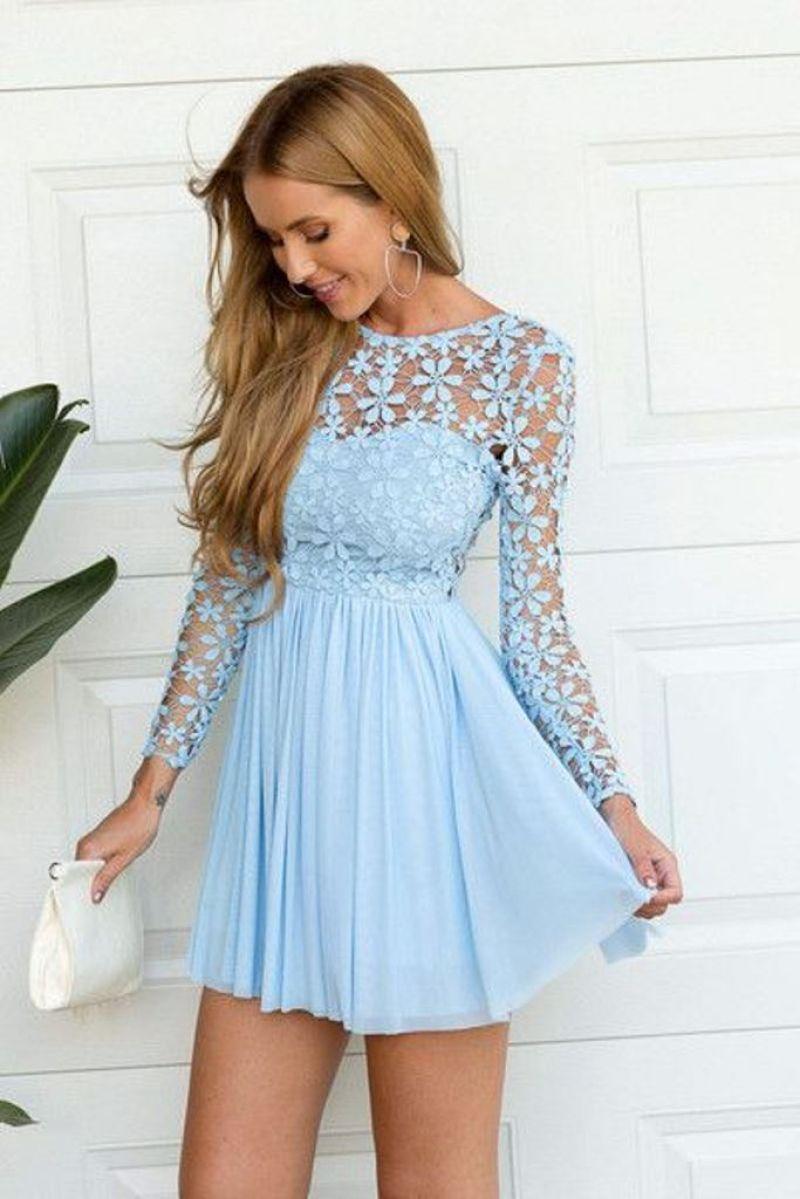 صورة فساتين سهرة قصيرة , اجمل فستان سهره
