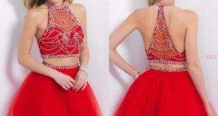 بالصور فساتين سهرة قصيرة , اجمل فستان سهره 2922 10 310x165