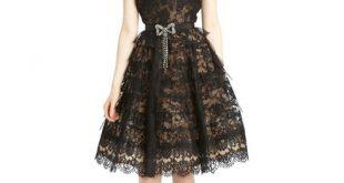 موديلات فساتين دانتيل , تشكيلة من الفساتين الشيك للمناسبات
