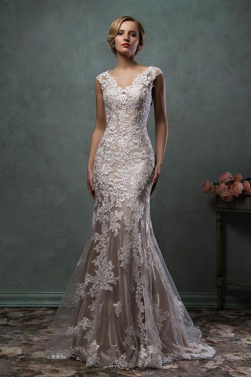 صورة موديلات فساتين دانتيل , تشكيلة من الفساتين الشيك للمناسبات 3473 3