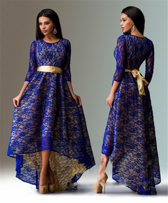صورة موديلات فساتين دانتيل , تشكيلة من الفساتين الشيك للمناسبات 3473 6