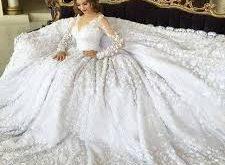 بالصور فساتين اعراس , احلى واشيك فستان لاجمل عروسة 449 14 225x165