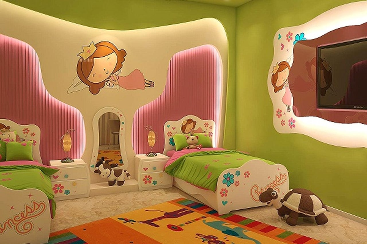 صور صور غرف نوم اطفال , اجمل اشكال لغرف الاطفال