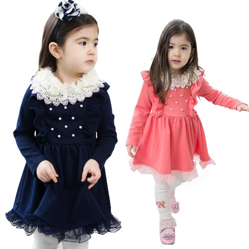 بالصور موضة فساتين 2019 , فستان شيك للطفله 2105 7