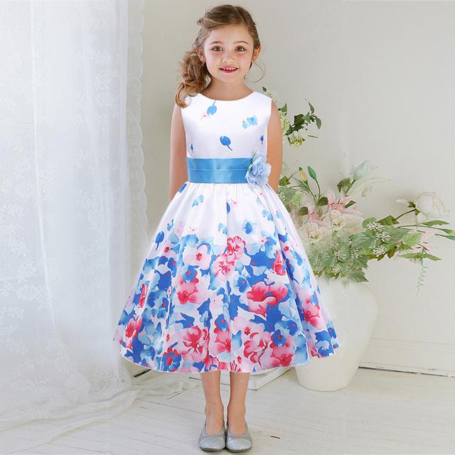 بالصور موضة فساتين 2019 , فستان شيك للطفله 2105 8