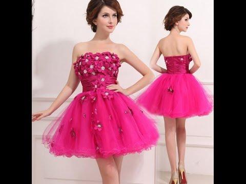 بالصور فساتين سواريه قصيره , اجمل فستان للبنات للمناسبات والسهرة 3846 2