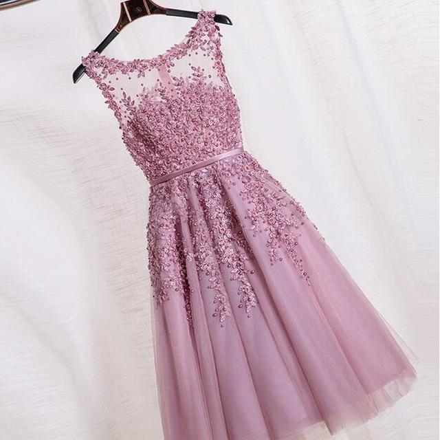 بالصور فساتين سواريه قصيره , اجمل فستان للبنات للمناسبات والسهرة 3846 4