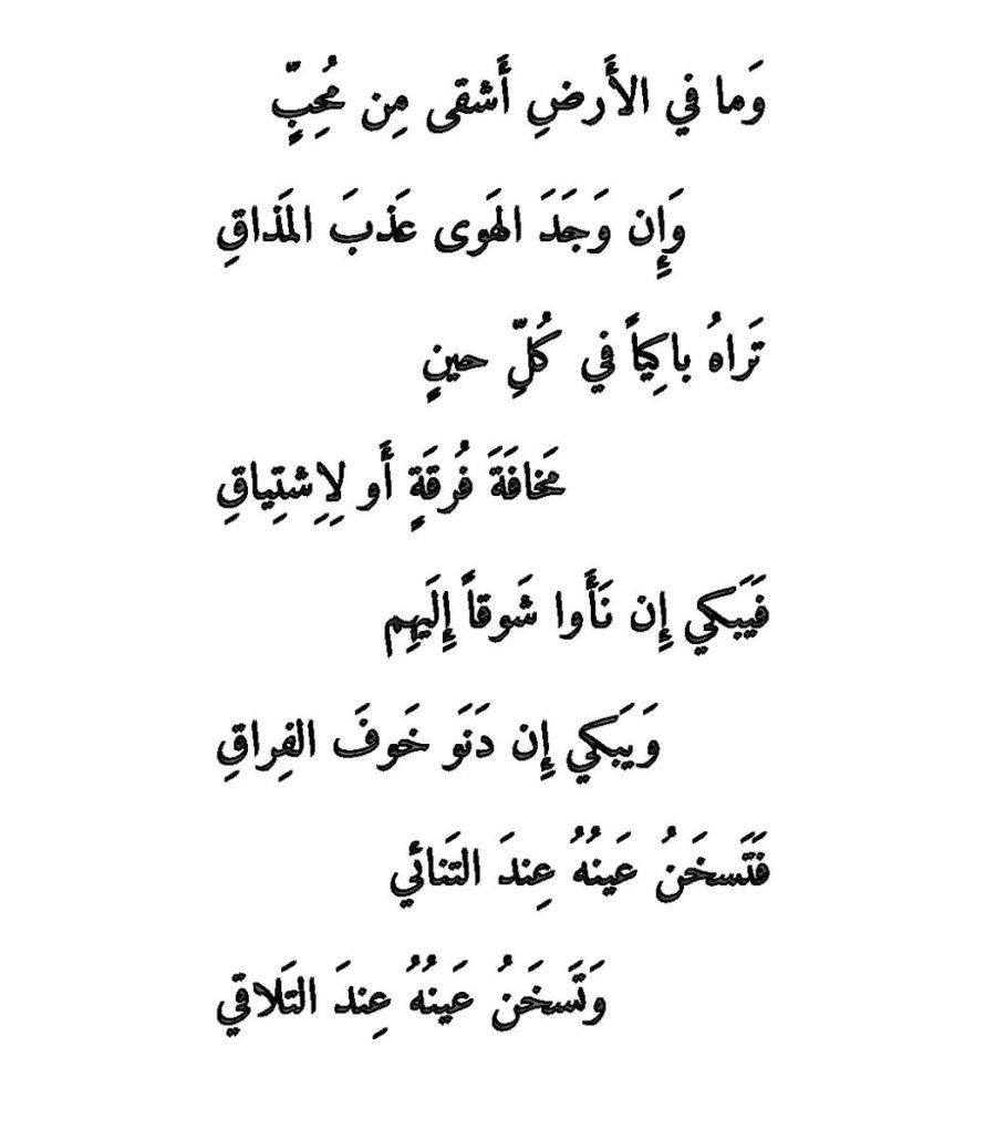 صورة شعر غزل للحبيب , كلمات تزيب القلب حبا 1733 6