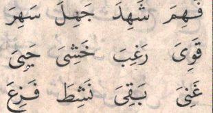 صوره كلمات عربية , تعليم الطفل قراته الكلمات