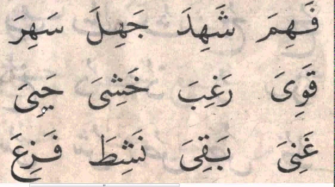 صورة كلمات عربية , تعليم الطفل قراته الكلمات