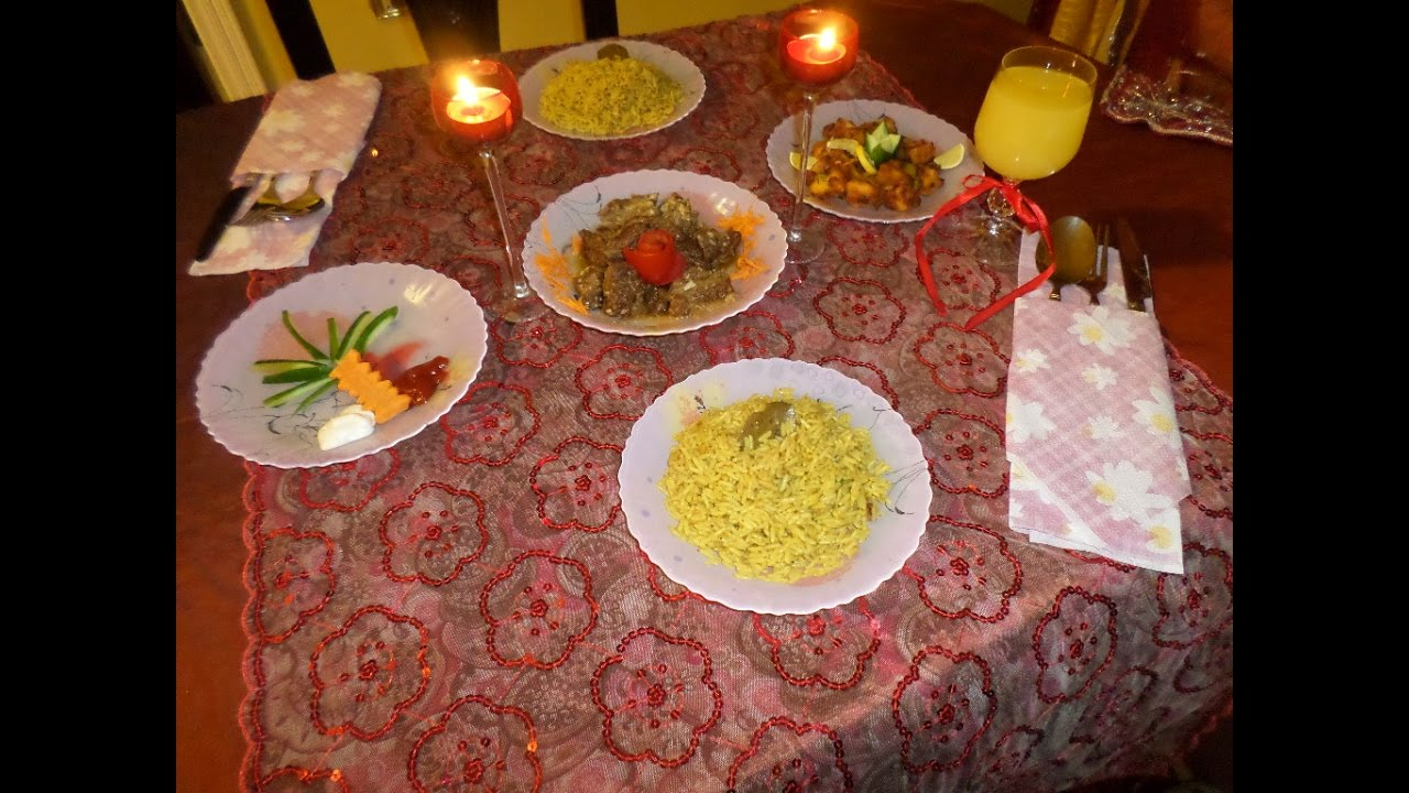 صور عشاء رومانسي , وجبات ليلية رومانتيكية ساحرة