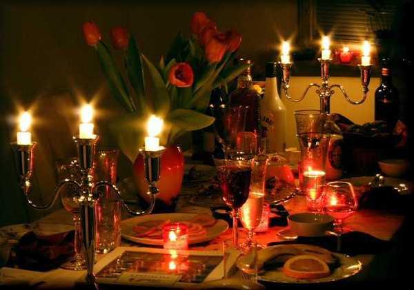 بالصور عشاء رومانسي , وجبات ليلية رومانتيكية ساحرة 1389 5