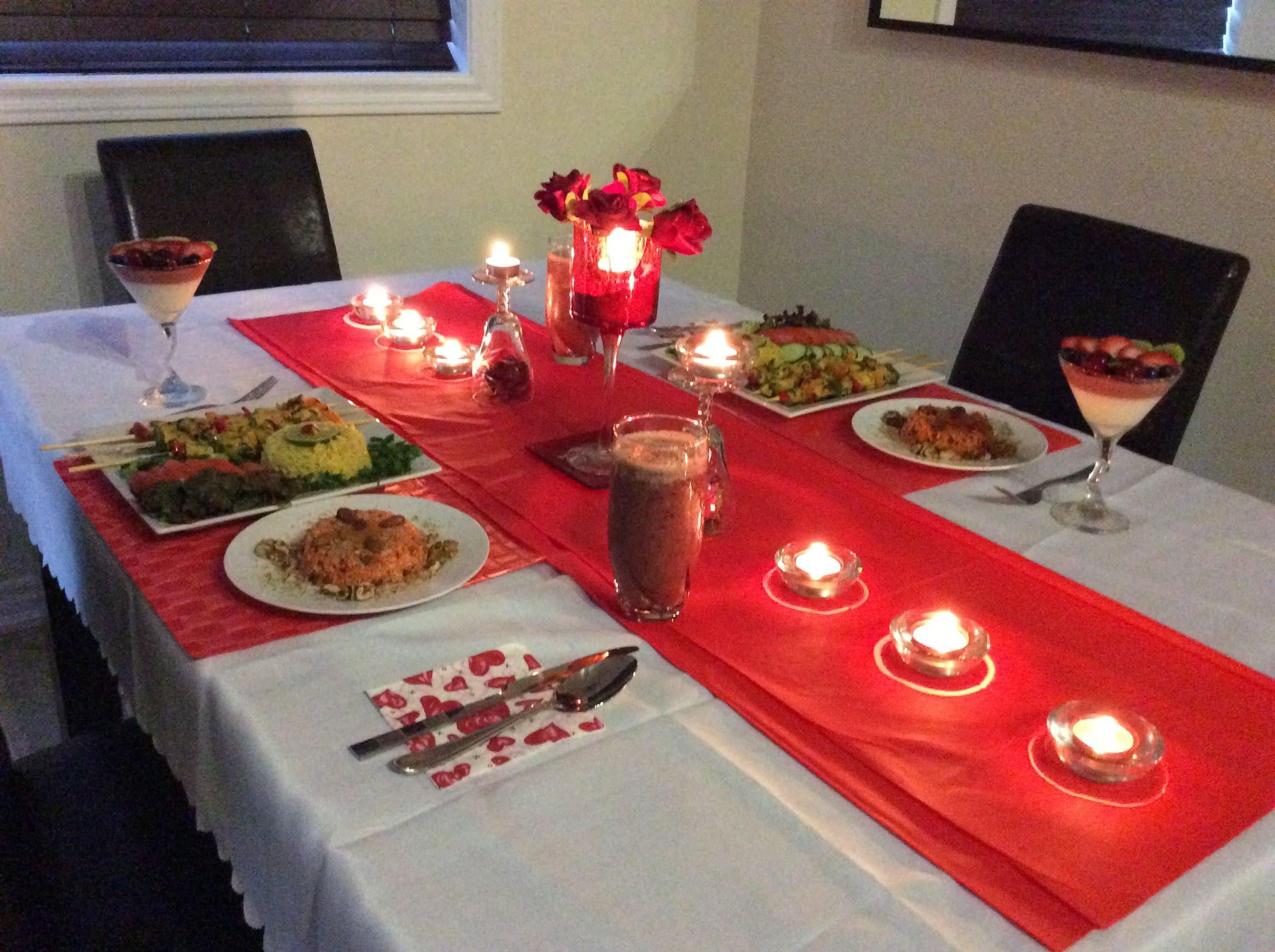 بالصور عشاء رومانسي , وجبات ليلية رومانتيكية ساحرة 1389 8