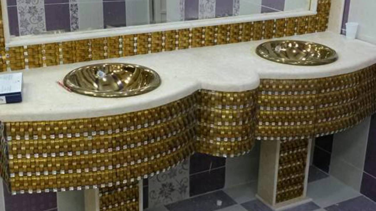 بالصور مغاسل حمامات , فخامة مغاسل دورات المياه تجدها هنا 1390 13