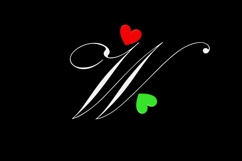 صوره صور حرف w , زخارف وتصاميم جديدة ورائعة لحرف w