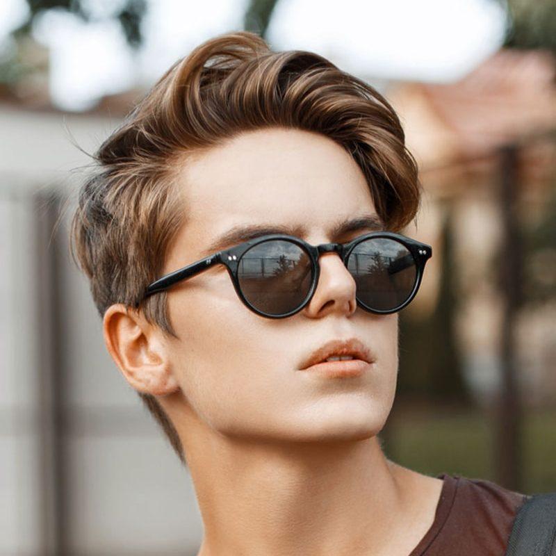 بالصور قصات شعر للرجال , اخر صيحات الموضة لشعر الذكور 1395 11