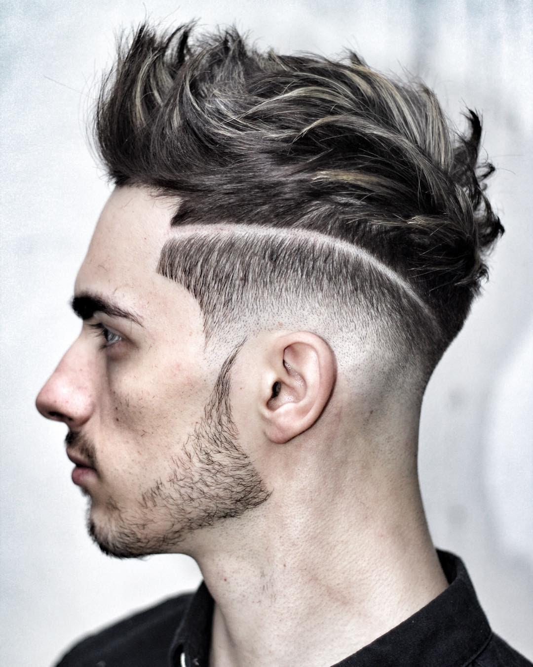 بالصور قصات شعر للرجال , اخر صيحات الموضة لشعر الذكور 1395 5
