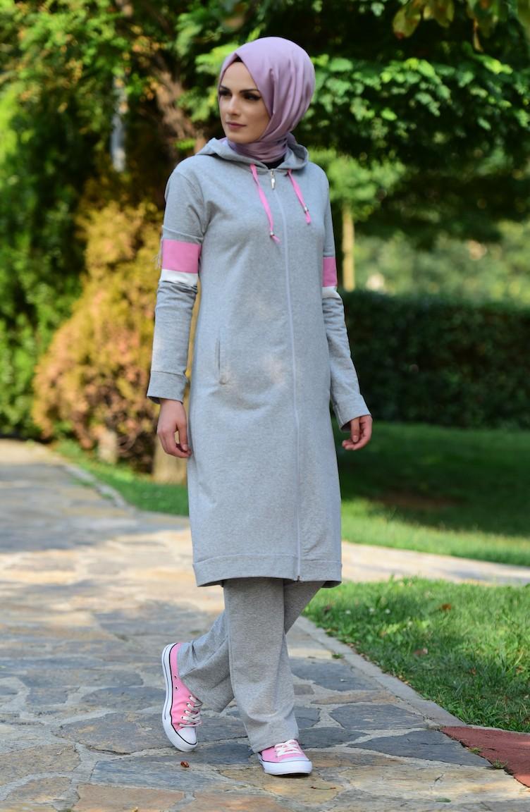 بالصور ملابس رياضية للمحجبات , ازياء لممارسة الرياضات للنساء المحجبة 1423 4