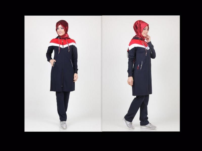 بالصور ملابس رياضية للمحجبات , ازياء لممارسة الرياضات للنساء المحجبة 1423 7