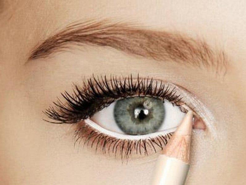 بالصور مكياج عيون بسيط , ماك اب خفيف لسحر العيون 1424 10