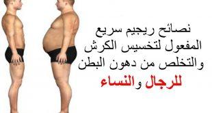 صور رجيم سريع المفعول , خسارة الوزن فى ايام معدودة