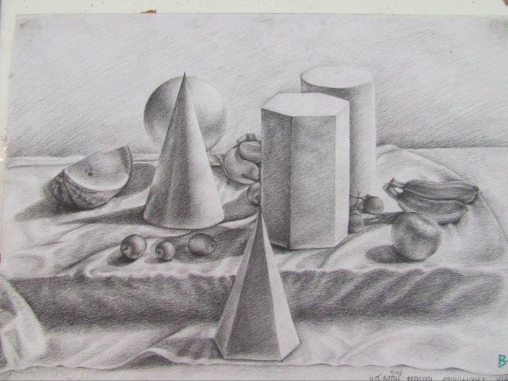 بالصور اجمل رسومات , رسومات القلم الرصاص الجامده 1718 6