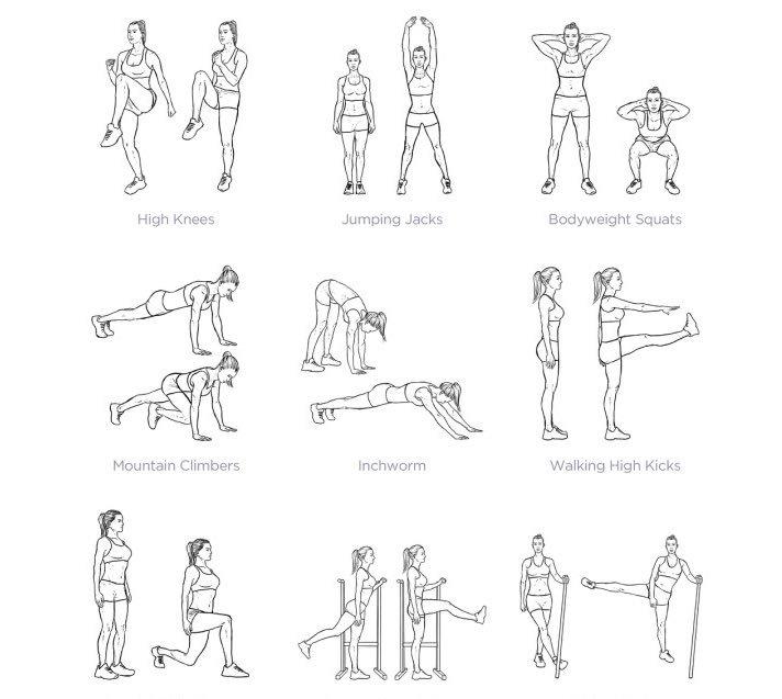 صورة تمارين لشد الجسم , اجمل تمارين رياضى مذهل