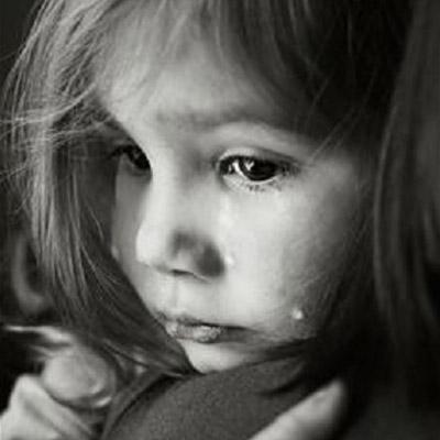 بالصور طفلة تبكي , دموع غاليه على القلب 1768 4